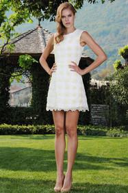 Cotton Macrame Dress