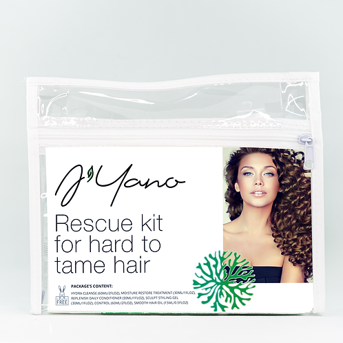 Rescue Kit for Hard to Tame Hair