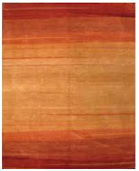 Moden Handemade rug, Gabbe design, Indian rug, Wool rug, rust color