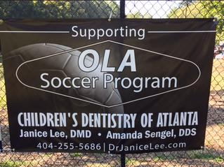 What a fun time we had as an OLA Bobcats Soccer Program sponsor!