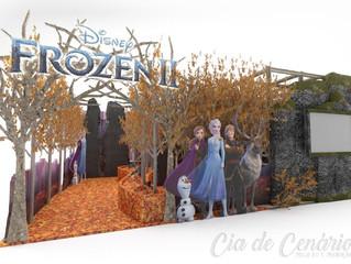 Evento temático da animação Frozen 2 vai movimentar as férias escolares no Iguatemi Esplanada