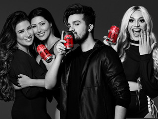 Luan Santana, Simone e Simaria e  Pabllo Vittar são os vencedores do projeto #FanFeat Coca-Cola