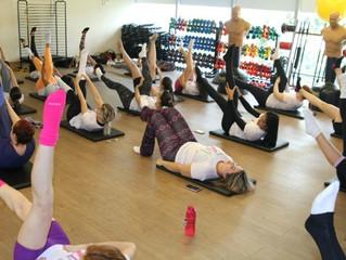 Bodytech do Iguatemi Esplanada promove aula de Pilates ao ar livre