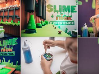 Slime Experience da Nickelodeon chega pela primeira vez ao Iguatemi Esplanada