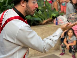 Feira Cultural apresenta show de mágica e oficina de circo no Iguatemi Esplanada