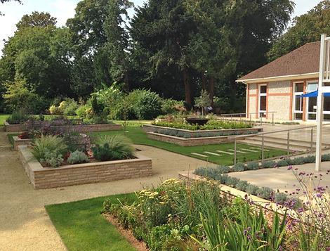 Hospital Garden Design in Torbay, Devon Garden Design. Landscape Architect Devon.
