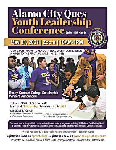 Youth Leadership Conference Flyer_Mar21.