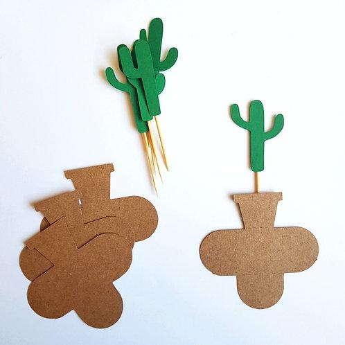 Topper + Forminha Cactus