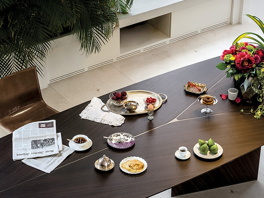 Shared Moments with Arketipo's Dining Tables
