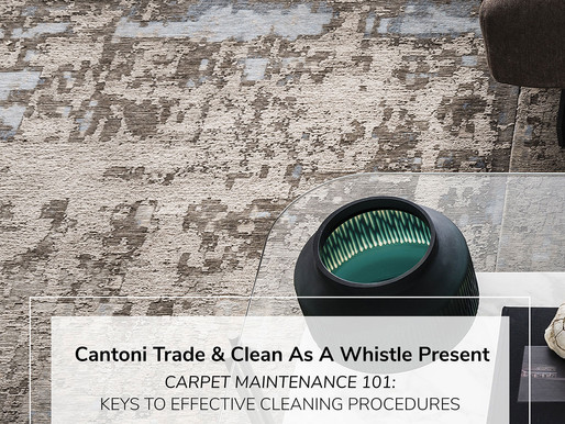 Cantoni Trade Houston: Education Course for Designers-Carpet Maintenance 101 on March 6