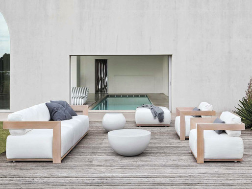 Outdoor Luxury with Meridiani's Open Air Collection
