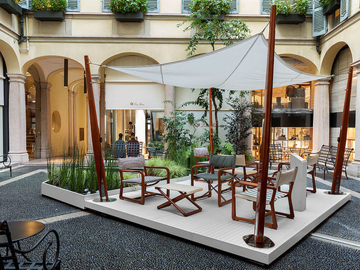 The Delight Chairs: A New Collaboration Between Exteta and Loro Piana Interiors