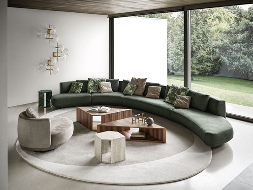 Contemporary Lifestyle Living With Gallotti&Radice's 2020 Collection