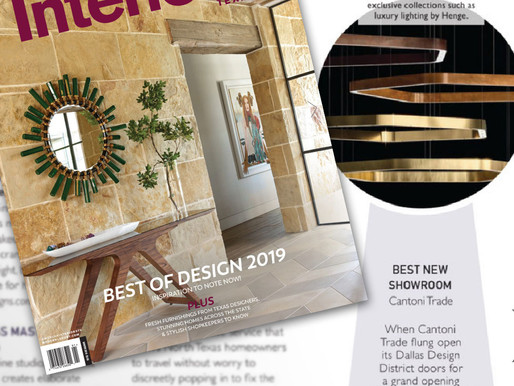 Cantoni Trade named Best New Showroom