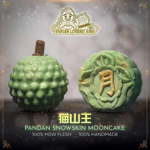 Mao Shan Wang Pandan Snow Skin Mooncake