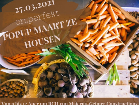 Pop-up Maart den 27.03 zu Housen