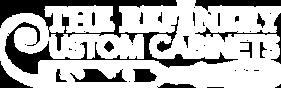 The Refinery Custome Cabinets Logo White