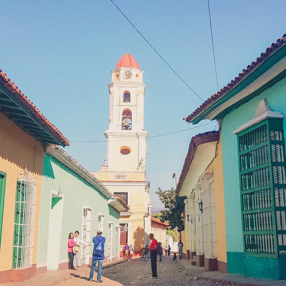 Arquitetura das casas em Trinidad