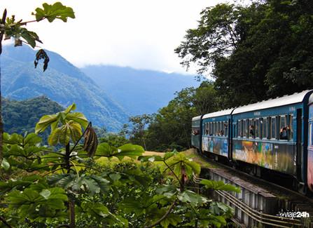Passeio de trem de Curitiba até Morretes