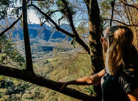 Como fazer trilha no costão da Serra do Rio do Rastro