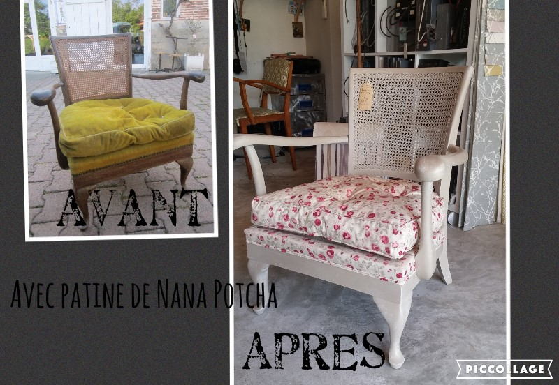 Fauteuil style Chippendale