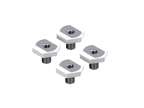 Oops Clamp Hand Nut for 1/4-20 T-Track (4 Pack)