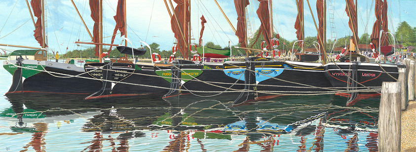 Maldon Hythe Barges
