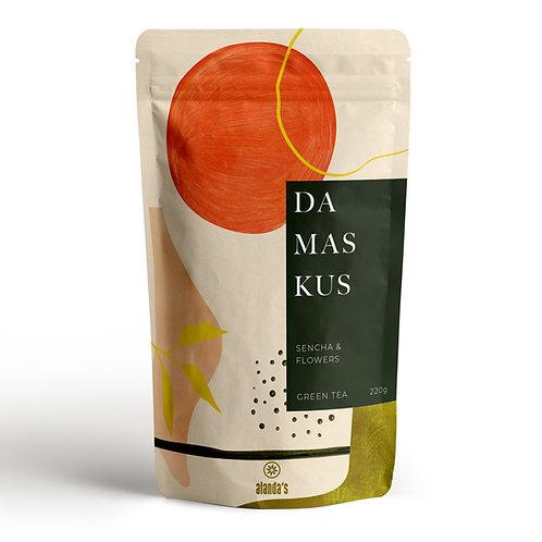 DAMASKUS | Grüner Sencha-Tee, schwarzer Tee, Rosen, Sonnenblume & Jasmin