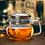 Thumbnail: Glaskanne mit 350ml Fassung, robust und spülmaschinenfest