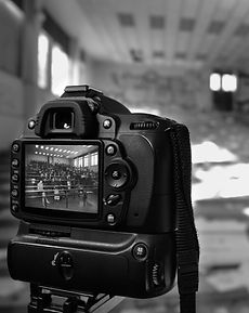 Montage Noir et blanc Nikon Backstage  art fantome création films vidéos rushs tekprod emmanuel tecles