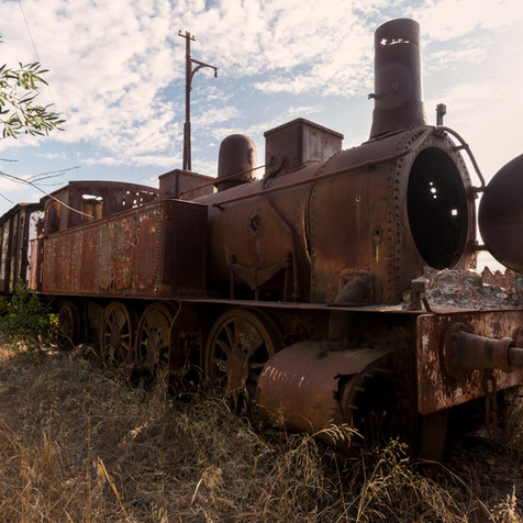 RUSTY LOCOMOTIV
