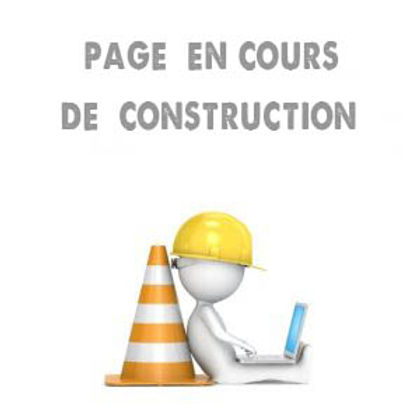 Page en construction.