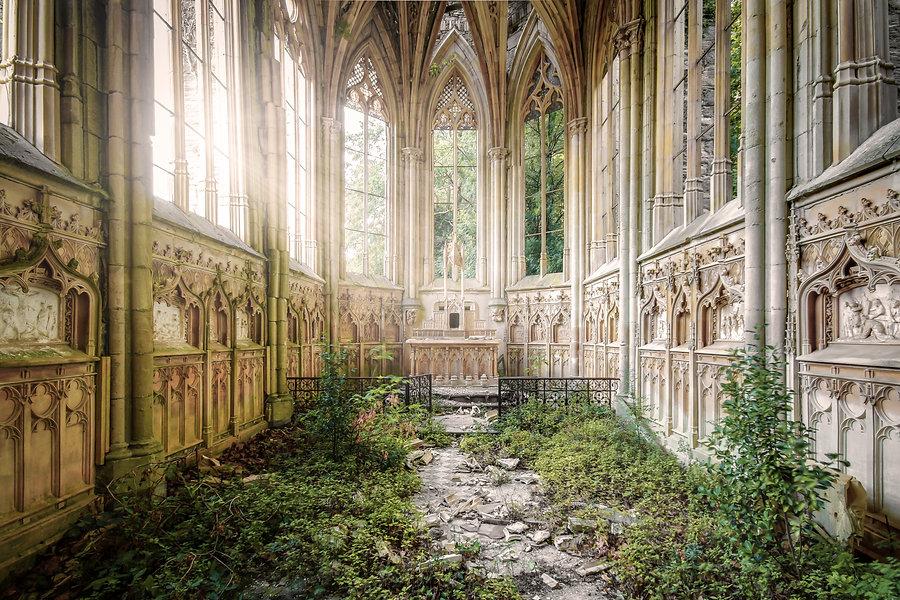 chapelle église exploration france urbex religieux nature art tekprod emmanuel tecles