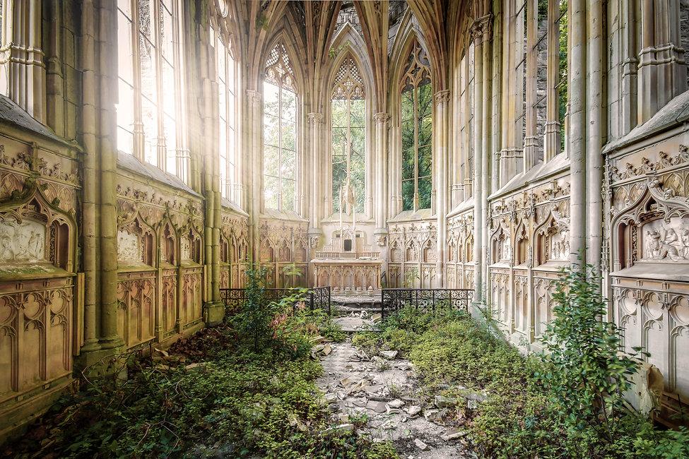 chapelle exploration france urbex religieux nature