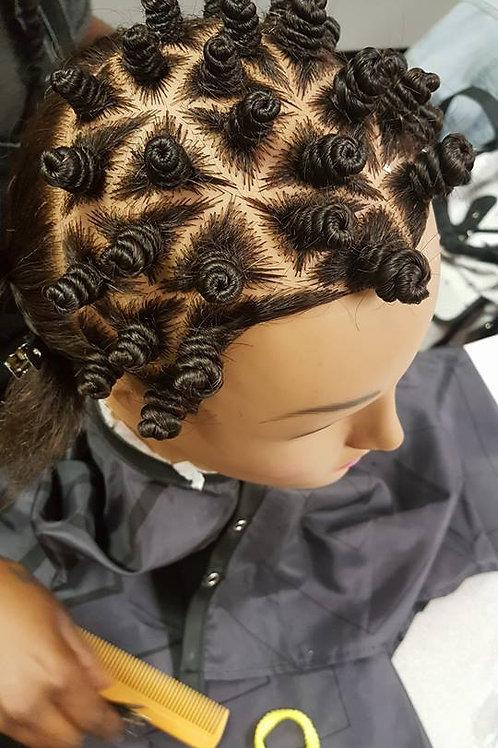 Jasmine Ethnic Hair Mannequin