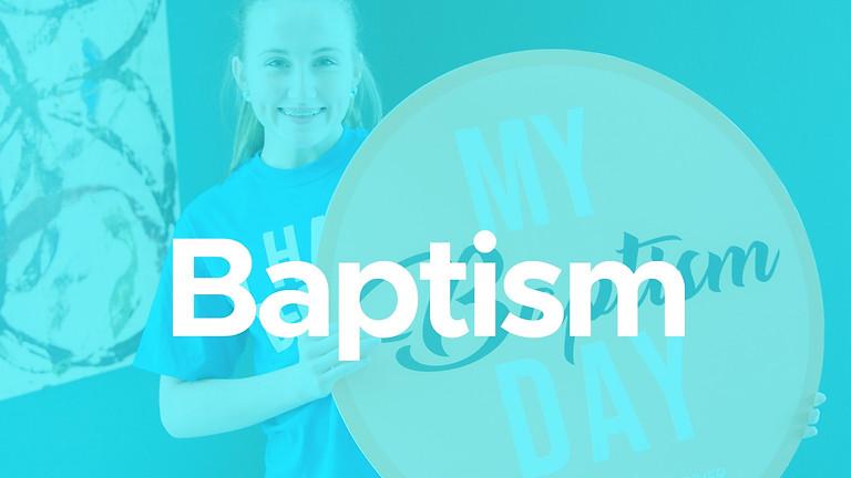 Saturday Baptisms