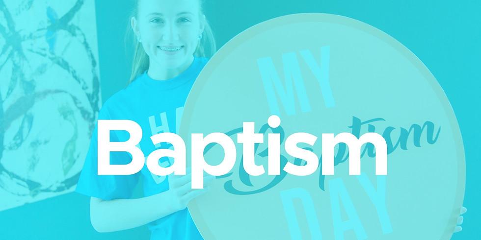 Sunday 9:30am Baptisms