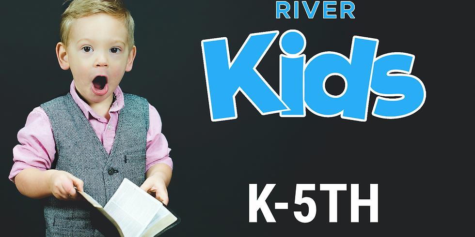Sunday October 25th Kids (K-5th) Registration