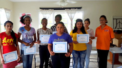 Certificates awarded