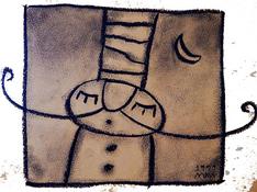 Pastello su carta cm 15x15