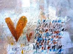 Acrilico e acquerello su tela cm 80x120
