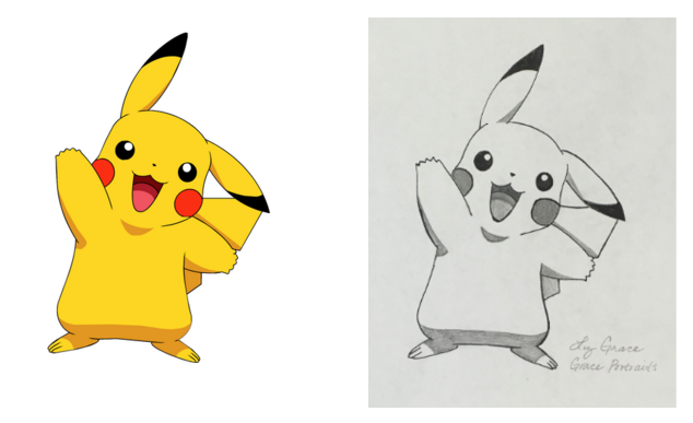 Drawing Challenge: Can You Capture Pikachu by hand?