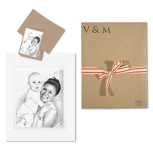 Portrait Stationery (Pack of 10)