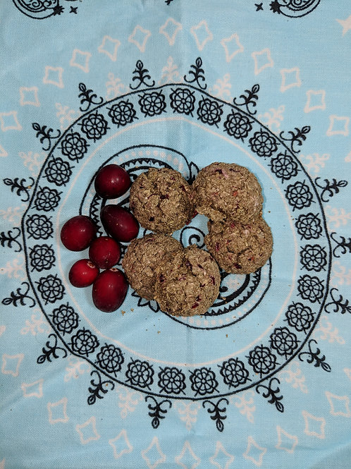 Festive Cranberry Cookies
