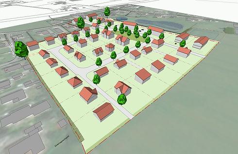 B_..städtbaulicher Entwurf 0501 – 3D Süd