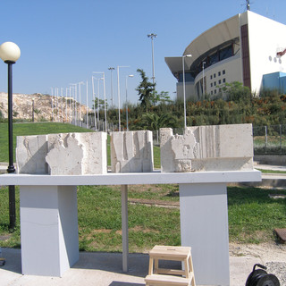 Nikaia International Sculpture Symposium, Athens, Greece, 2004