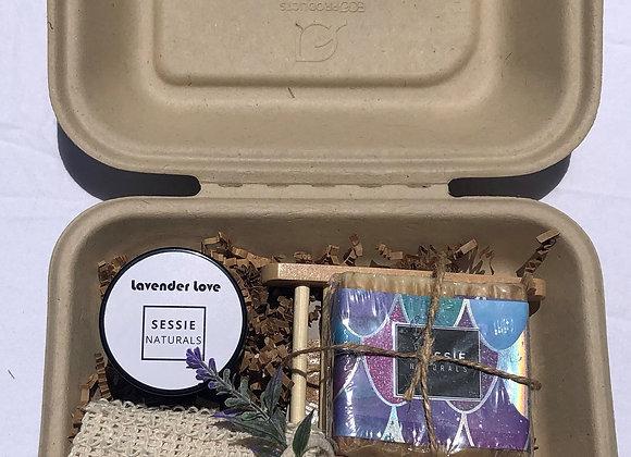 Lavender Lemon Soap n' Scrub LoveBox