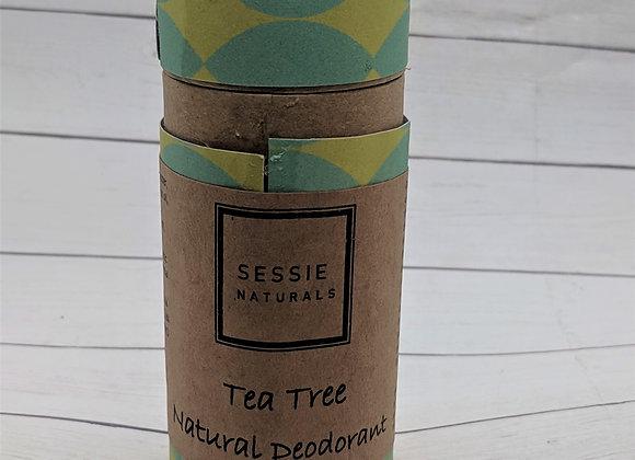 Tea Tree Natural Deodorant