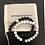 Thumbnail: Black & White, Lava & Marble Couple Bracelets