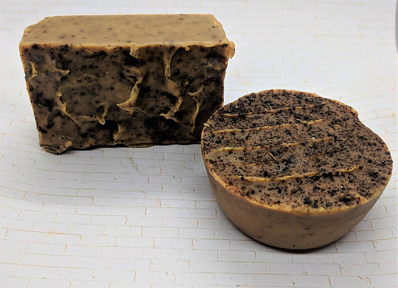 Nutty Cinnamon & Pomegranate (Nuts, Twigs, Fruit) Face and Body Soap